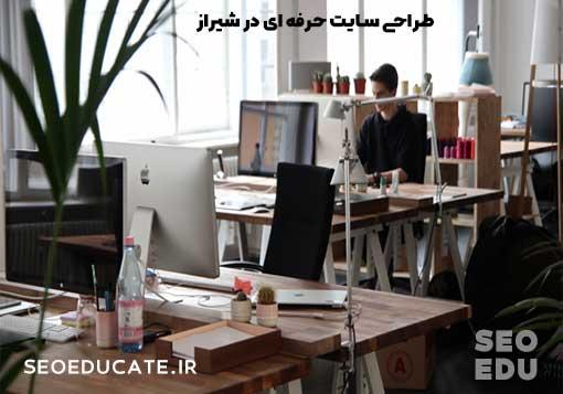 طراح سایت حرفه ای در شیراز